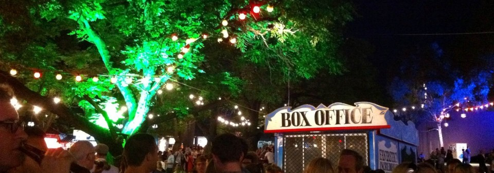 Garden Lighting at the garden of Unearthly Delights