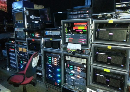 Footy Show Media Servers and Processing.